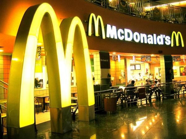 Płatność SMS w restauracjach McDonald's